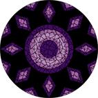 Amethyst mosaic design