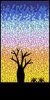 Baobab Dawn mosaic design