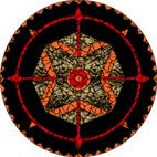 Dreamcatcher black mosaic design