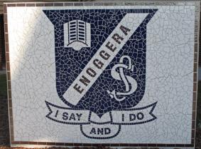 School mosaic project enoggera I say I do