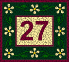 House number heritage mosaic design