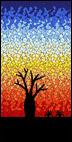 Baobab Sunset mosaic kit
